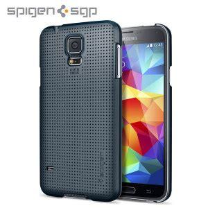 Sgp Ultra Fit For Samsung Galaxy S5 Oem Black spigen ultra fit for samsung galaxy s5 metal slate