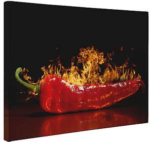 food kitchen red chili peppers single canvas wall art red hot chili pepper canvas print wall hanging art picture