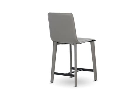 modern leather bar stools modern armless leather bar stool mecox gardens