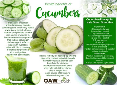 benefits of cucumber 22 health benefits of cucumbers
