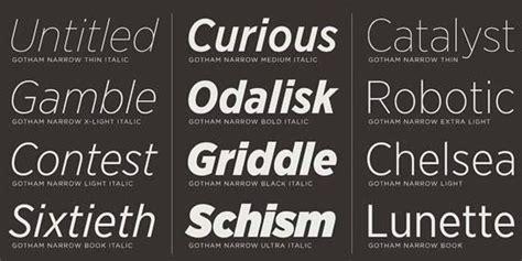 Kaos Gotham font tipografi berkualitas untuk desain korporasi