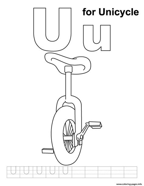 coloring pages 4 u free coloring pages for kids unicycle alphabet s free60dc coloring pages printable