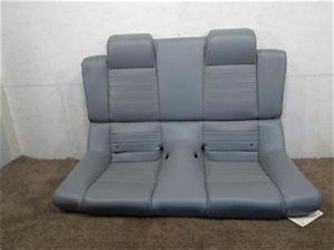 mustang upholstery replacement replacement ford convertible mustang gt grey leather rear