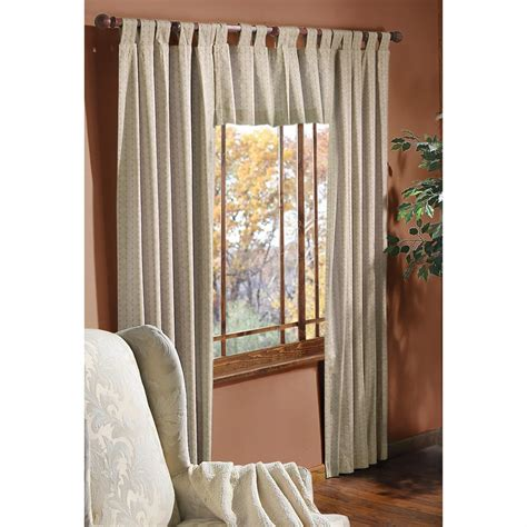 park curtains summit park woven look insulated curtains 214308
