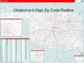 Oklahoma Zip Code Map by Oklahoma Zip Code Map From Onlyglobes Com