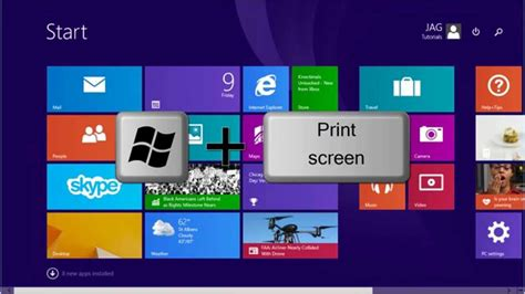 youtube tutorial windows 8 windows 8 8 1 how to take a screenshot tutorial
