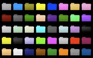 folder color snow leopard folder colors mac