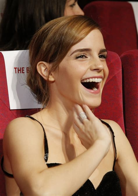 emma watson laughing emma watson prepared for bling ring role by watching kim