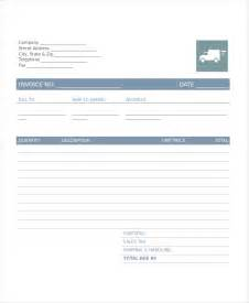 moving invoice template company invoice template 5 free word excel pdf