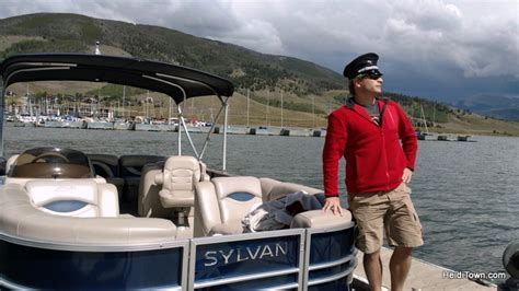 pontoon boats lake dillon fall in love with frisco colorado this autumn