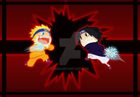 chibi battlenaruto  sasuke  koiii  deviantart