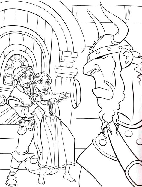 Disney Tiana Colouring Pages L