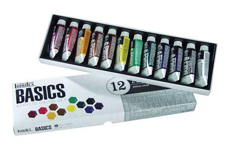 acrylic painting set save on discount liquitex basics acrylic paint set of 12