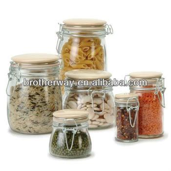 Kate S Kitchen Glass Jars Glass Kitchen Storage Jar Swing Top Glass Container Buy