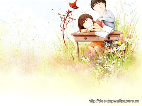 wallpaper of couple cartoon wallpaper love couple cute cartoon desktop wallpapers
