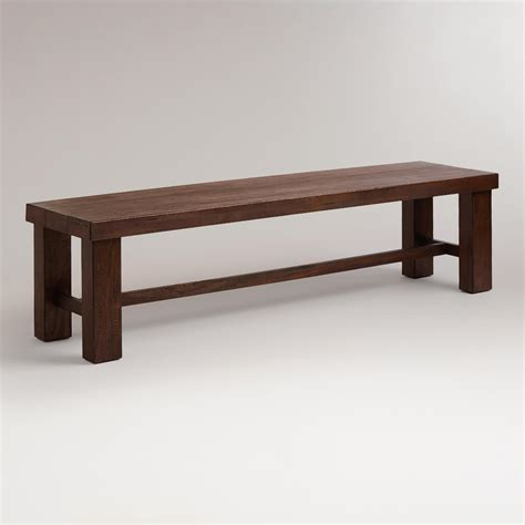 dining tables with benches francine dining bench world market