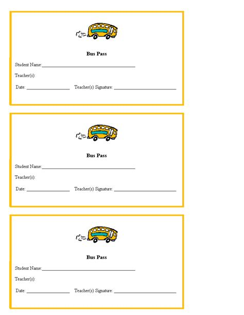 School Pass Template Www Imgkid Com The Image Kid Has It Pass Template