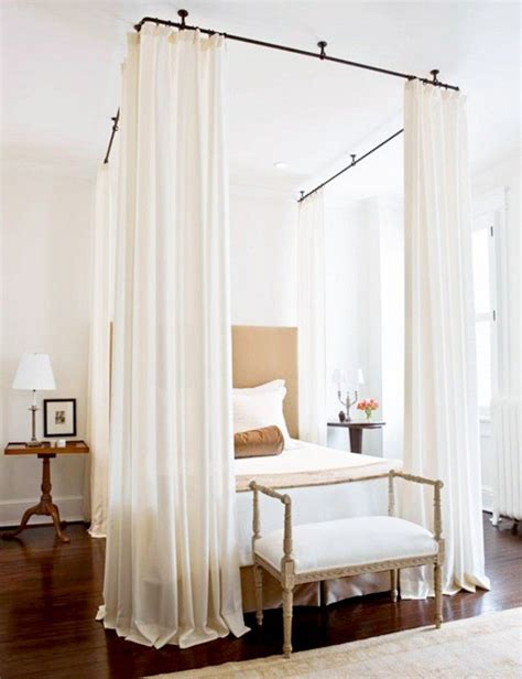 curtains around bed 1000 ideas about curtains around bed on pinterest
