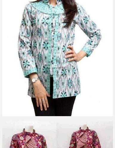 Baju Batik Muslim Baru Alya Store model baju batik kantor wanita android apps on play