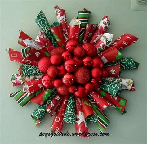 How To Make Wreath With Paper - diy paper wreath pegsgottado