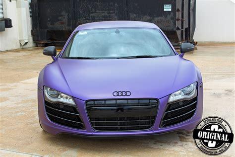 Purple Audi R8 by Matte Purple Audi R8 By Superior Auto Design