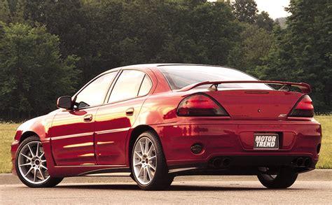how make cars 2002 pontiac grand am engine control pontiac grand am sc t exclusive first test motor trend
