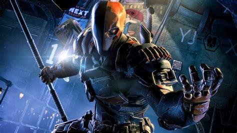 image deathstroke origins jpg arkham batman arkham origins deathstroke battle pc ultra