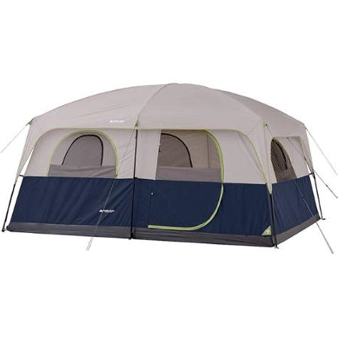 2 Room Cabin Tent by Ozark Trail 10 Person 2 Room Cabin Tent Walmart