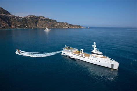 yacht game changer game changer yacht support vessel by damen amels