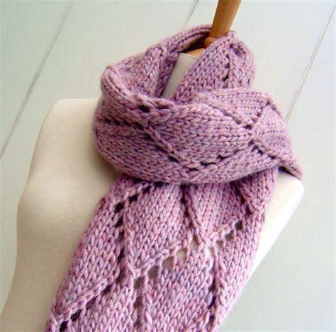 diamond pattern scarf knitting knitting pattern scarf wrap easy knit diamond lattice scarf