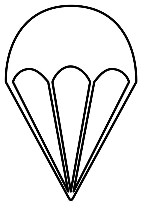 army parachute coloring pages file parachute fallschirm svg wikimedia commons