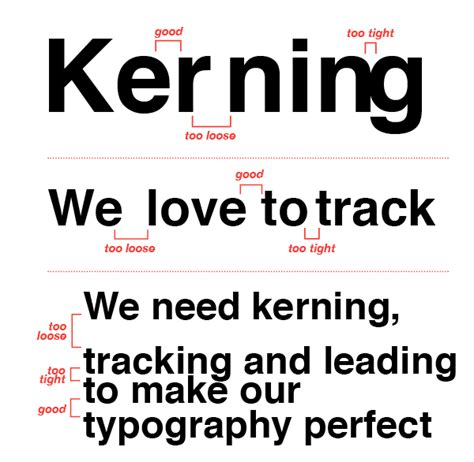 typography tracking 11 typography tips that everyone needs to