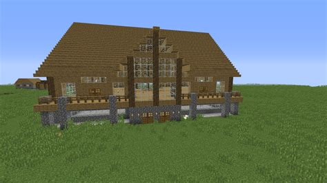 Decorate Project An Advanced Wooden House Mansion Minecraft Project