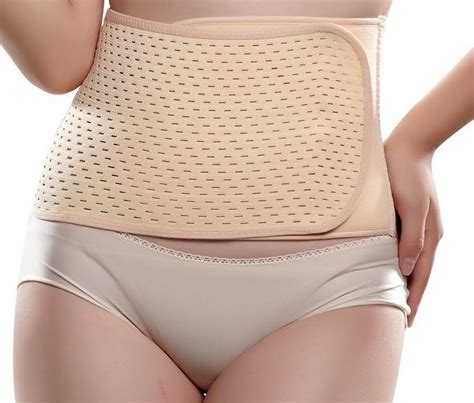 Mesh After C Section by Mesh Breathable Stomach Belt Postpartum Corset Waist