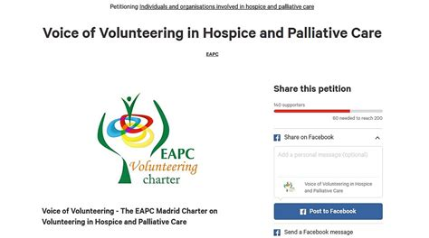 comfort hospice and palliative care charter palliative care nsw volunteer support services