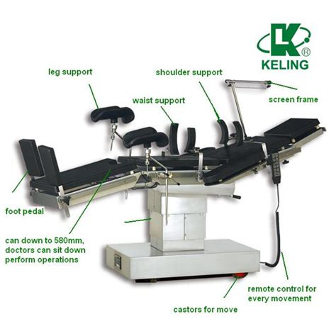 Table Parts by Kl D Ib Electric X Compatible Ot Tableoperating Table Parts Manual Hydraulic Operation Table