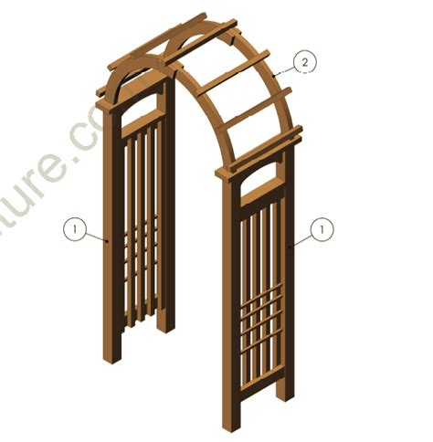 free trellis plans garden arbor plans autumn weddings pics