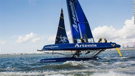 america s cup sailing s money men cnn - Artemis Racing Boat