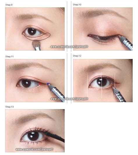 tutorial make up ala korea step by step zibees com fashion guilt diy tips quot girl next door