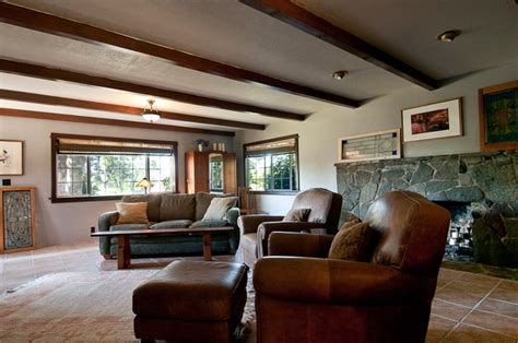 ranch living room ideas my houzz a ranch style home in salem oregon evokes old