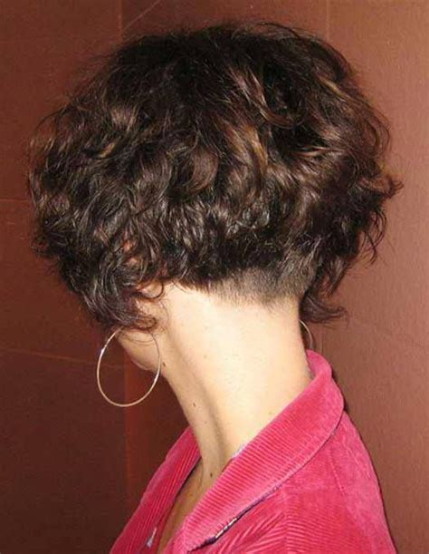 bobbed haircut with shingled npae 1000 ideas about curly bob haircuts on pinterest short