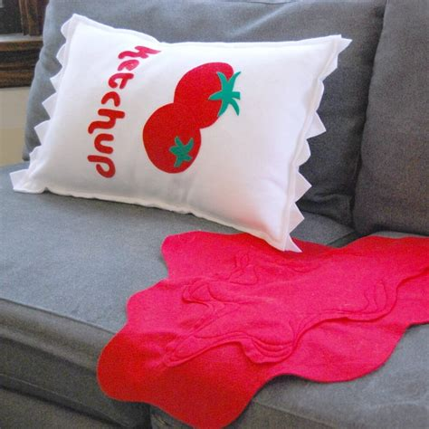 pillow designs pillow design cabin fever sale with ketchup on the side