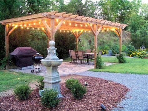 pergola lighting ideas 10 diy backyard and patio lighting ideas