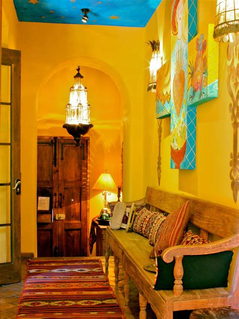 home interior mexico spanish style decorating ideas spanish style hgtv and