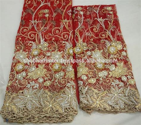 beaded net fabric heavy beaded net george wrappers fabric buy india
