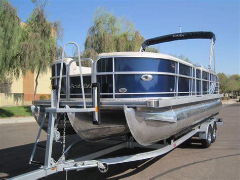 tritoon boat 250 hp south bay tritoon pontoon 724sl limited 250hp verado boat