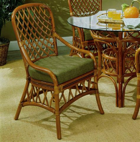 south sea rattan antigua indoor dining side chair modern