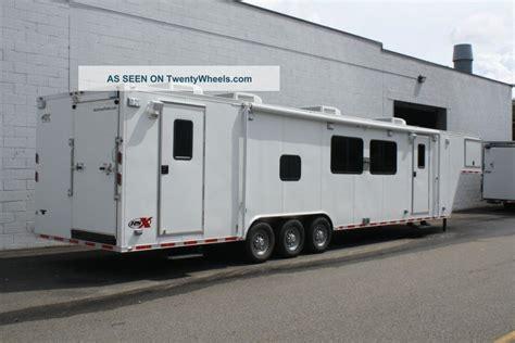 four rooms trailer trailer outreach trailer 44 goose neck with