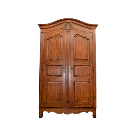 armoire pottery barn 55 off pottery barn pottery barn armoire with shelves