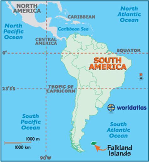 falkland islands on map falkland islands map geography of falkland islands map